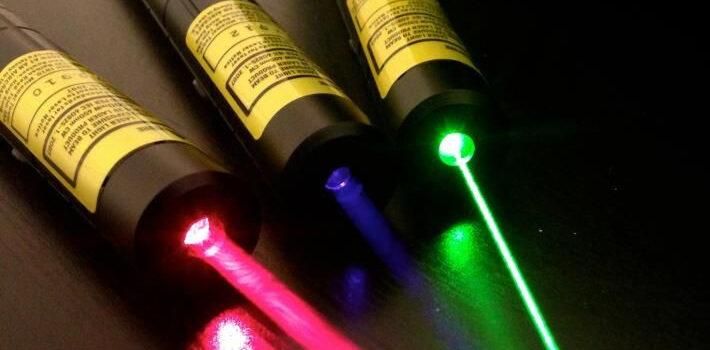 Laser a LED tascabile